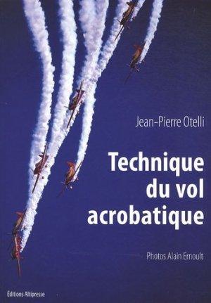 Technique de vol acrobatique - altipresse - 9782911218637 -