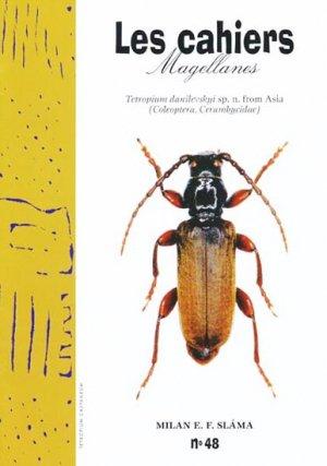 Tetropium danilevskyi sp. n. from Asia Coleoptera, Cerambycidae - magellanes - 9782911545702 -