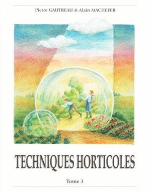 Techniques Horticoles Tome 3 - hortivar - 9782917308011 -