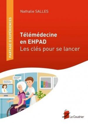 Télémédecine en EHPAD - le coudrier - 9782919374182 -
