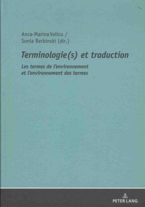 Terminologie(s) et traduction - peter lang - 9783631746431