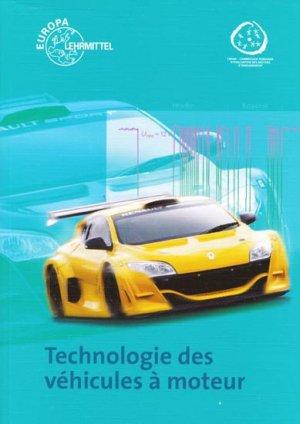 Technologie des véhicules à moteur - europa lehrmittel - 2313808522222 -