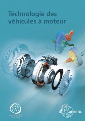 Technologie des véhicules à moteur - europa lehrmittel - 9783808525951 -