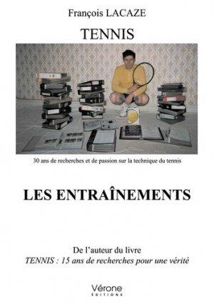 Tennis - Les entraînements - Vérone éditions - 9791028411749 -