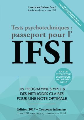 Tests Psychotechniques : Passeport pour l'IFSI - du 46 - 9791092452280 -