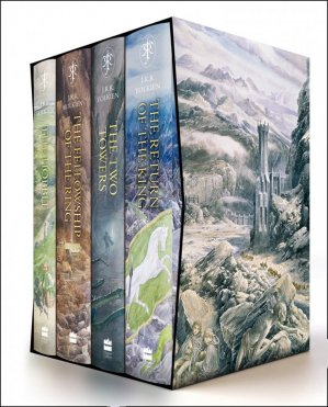 The Hobbit And The Lord Of The Rings - harper collins/gardners - 9780008376109 -