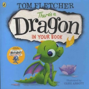 There's a Dragon in your Book - puffin books - 9780141376134 -