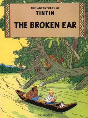 THE BROKEN EAR - egmont - 9781405206174 -
