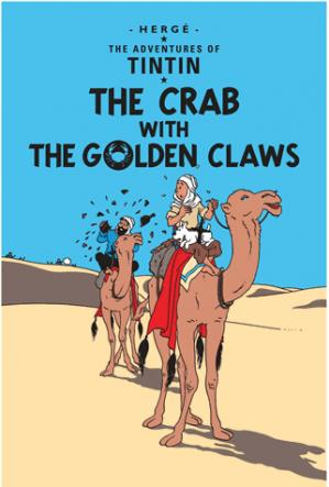 THE CRAB WITH THE GOLDEN CLAWS  - EGMONT - 9781405206204 -