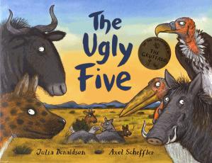 The Ugly Five - alison green books - 9781407174198 -