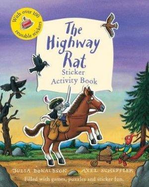 The Highway Rat Sticker Activity Book - alison green books - 9781407180762 -