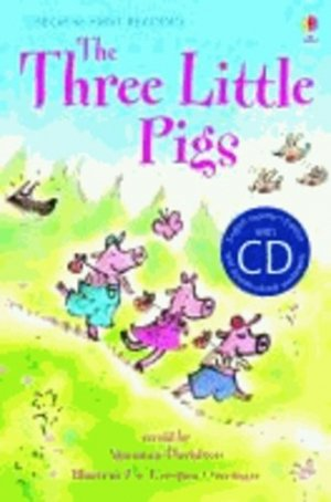 The Three Little pigs - Book with CD - usborne - 9781409545262 -