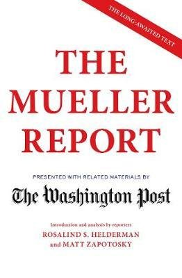 THE MULLER REPORT  - simon and schuster - 9781471186172 -