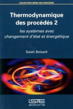 Thermodynamique des procédés - iste  - 9781784055929 -