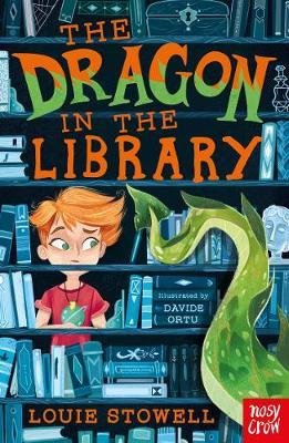 The Dragon in the Library - nosy crow - 9781788000260 -