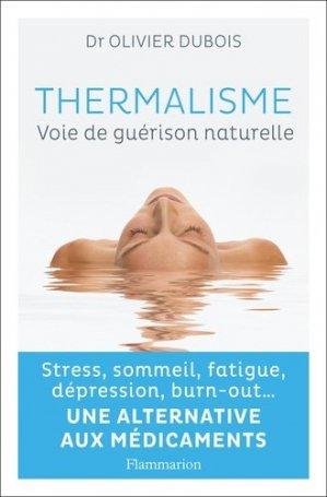 Thermalisme - flammarion - 9782081430594 -