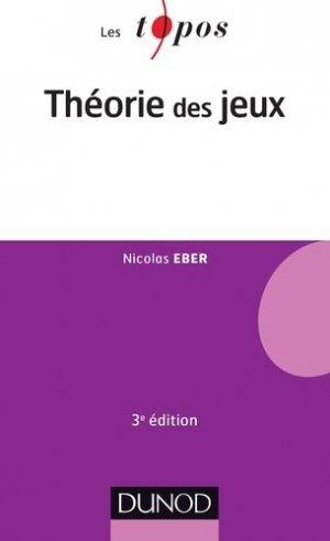 Théorie des jeux - dunod - 9782100591756 -