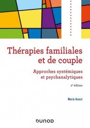 Thérapies familiales et de couple - dunod - 9782100799121 -