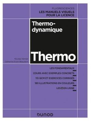 Thermodynamique - dunod - 9782100802906 -