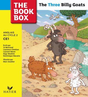 The Book Box : The Three Billy Goats, Album 3 - CE1 - hatier - 9782218938191 -
