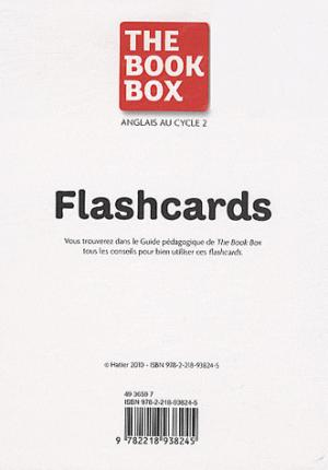 The Book Box : 64 Flashcards Anglais Cycle 2 - hatier - 9782218938245 -