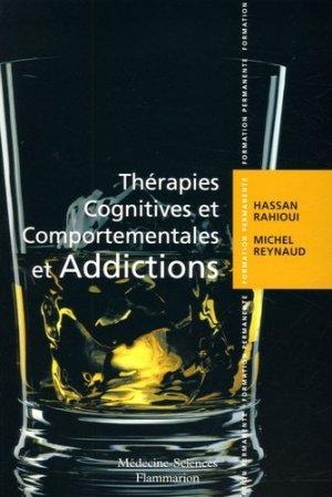 Thérapies cognitives et comportementales et addictions - lavoisier msp - 9782257108340 -