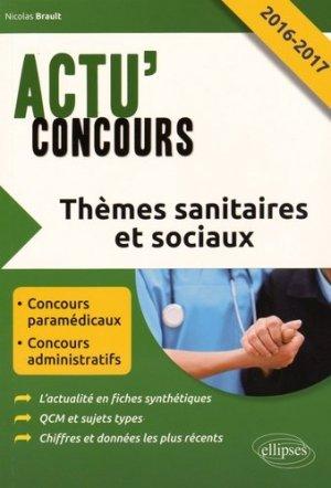 Thèmes sanitaires et sociaux - ellipses - 9782340007390 -