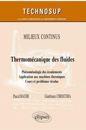 Thermo-mécanique des fluides - Ellipses - 9782340039711 -