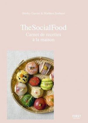 The social food, carnet de recettes et souvenirs de voyage - first editions - 9782412063644 -