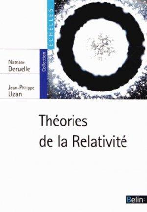Théories de la Relativité - belin - 9782701158488 -