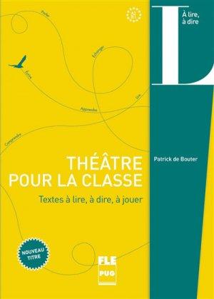 Théâtre pour la classe - PUG - 9782706130168 -