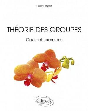 Théorie des groupes - ellipses - 9782729876319 -