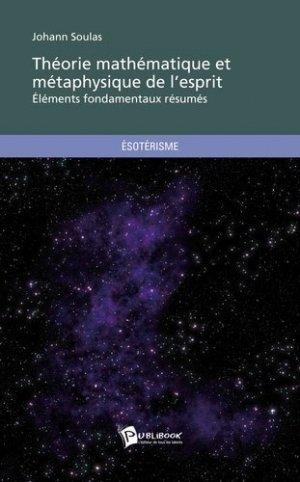 Théorie mathématique et métaphysique de l'esprit - societe des ecrivains - 9782748353082 -