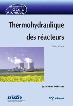 Thermohydraulique des réacteurs - edp sciences - 9782759810949 -