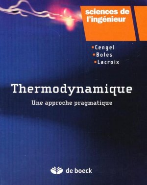 Thermodynamique - de boeck superieur - 9782804101251 -