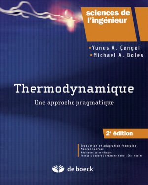 Thermodynamique - de boeck superieur - 9782804187293 -