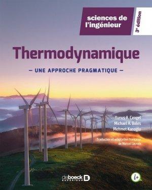 Thermodynamique - De Boeck supérieur - 9782807334885 -