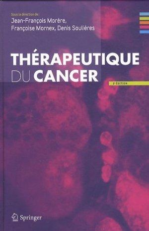 Thérapeutique du cancer - springer verlag - 9782817800202 -