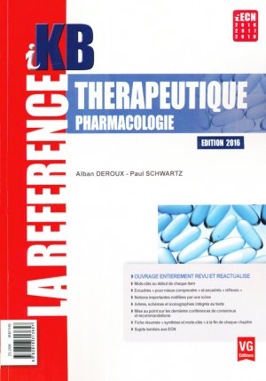 Thérapeutique, pharmacologie-vernazobres grego-9782818313657