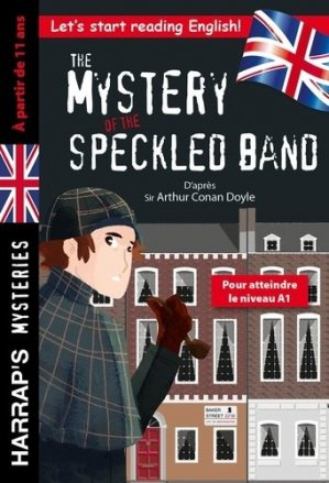 The Mystery of the Speckled Band - harrap's - 9782818707449 -