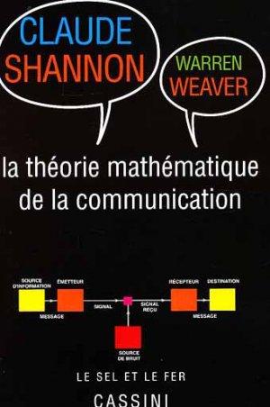 Théorie mathématique de la communication - cassini - 9782842252229 -