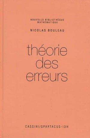 Théorie des erreurs - cassini - 9782842252656 -