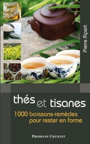 Thés et tisanes - presses du châtelet - 9782845924444