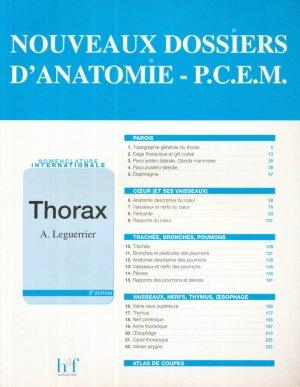 Thorax - heures de france - 9782853851220 -