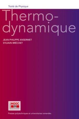 Thermodynamique - PPUR - 9782889153381 -