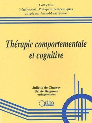 Thérapie comportementale et cognitive - ortho  - 9782914121118 -