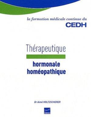 Thérapeutique hormonale homéopathique - cedh - 9782915668612 -