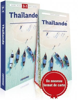 Thaïlande. Guide + Atlas + Carte 1/1650000, Edition 2019 - Express Map - 9788380468351 -