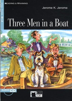 Three men in a boat - black cat - cideb - 9788853007636 -