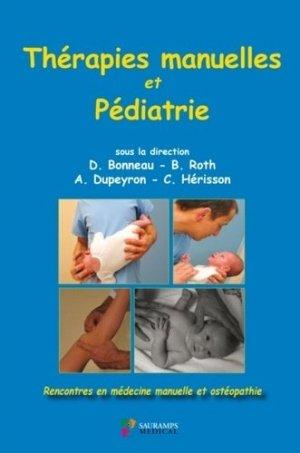 Thérapies manuelles et pédiatrie - sauramps médical - 9791030302066 -